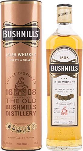 Bushmills Triple Distilled Original Irish Whiskey Whisky (1 x 0.7 l)