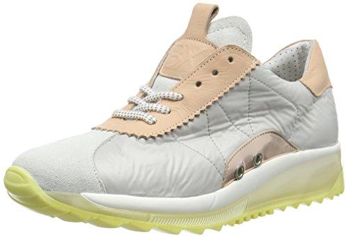 Bronx Damen BrodaX Sneakers, Mehrfarbig (1564 White/l. Grey/Blush), 40