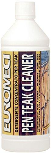 EUROMECI Pen Teak Cleaner, Detergente per Teak, 1.000 ml