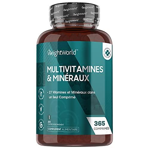 Multivitamines et Minéraux A Z - 365 Comprimés...