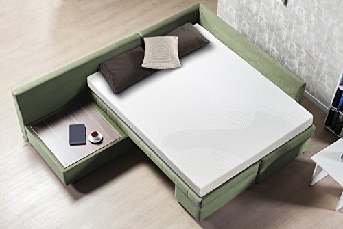 "Sleep Master 5"" Gel Memory Foam Sofa Mattress, Queen"