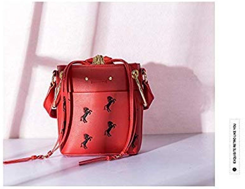 Bloomerang Oyixinger 2018 Fashion Woman Bag Single Shoulder Packet Handbag Embroidery Handbag Bolsa Feminina High-end Bag Luxury Handbags color red