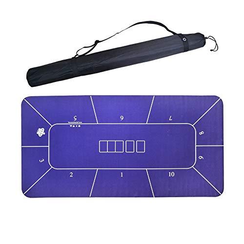Lpinvin GA - Pokertischaufsätze in Purple, Größe 180x90cm