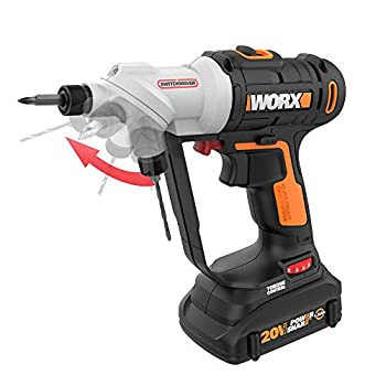 Worx WX176L 20V Power Share Switchdriver 1.5Ah 2-in-1 Cordless Drill & Driver