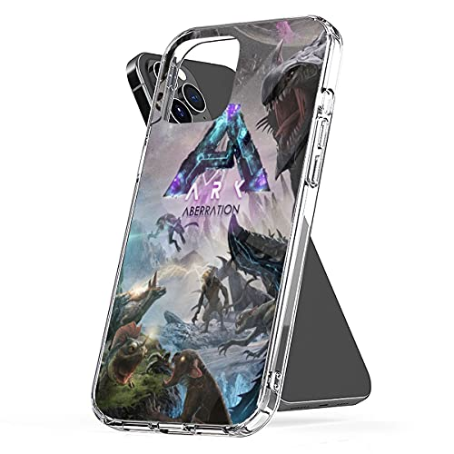 Phone Case Ark Waterproof Survival Pc Evolved Funny Aberration Clear Illustration TPU Art Hd Compatible for iPhone 6 6s 7 8 X Xr Xs 11 12 Pro Max Plus Se 2020