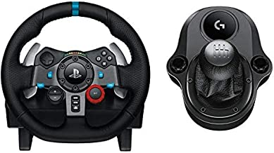 Logitech Driving Force G29 Racing Wheel for PS4, PS3 and PC with Logitech Driving Force Shifter