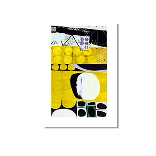 La obra de arte del personaje azul abstracto del famoso pintor francés Matisse imprime pinturas familiares en lienzo sin marco A 70x100cm