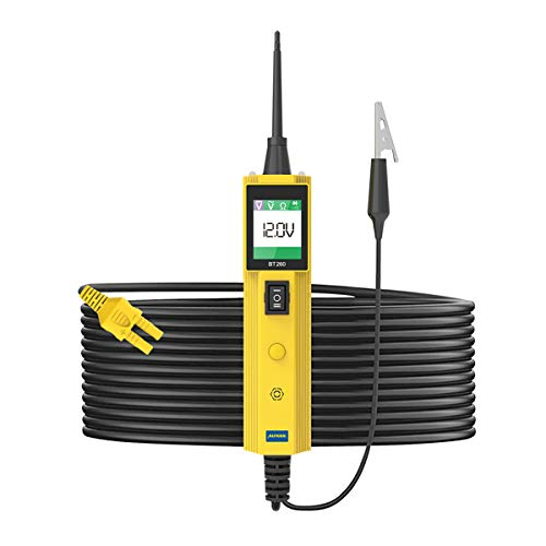 KFZ Auto Power Probe Kit, AUTOOL 6-30V Elektrisches Diagnosegerät KFZ Multimeter Voltmeter Auto Spannungsprüfer mit LED Lampe für 6V/12V/24V für Auto Boot Motorrad Schaltkreis Systeme