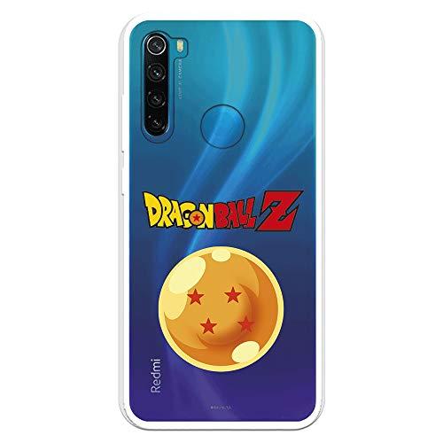 Funda para Xiaomi Redmi Note 8 Oficial de Dragon Ball Bola de Dragón nº 4 para Proteger tu móvil. Carcasa para Xiaomi de Silicona Flexible con Licencia Oficial de Dragon Ball.