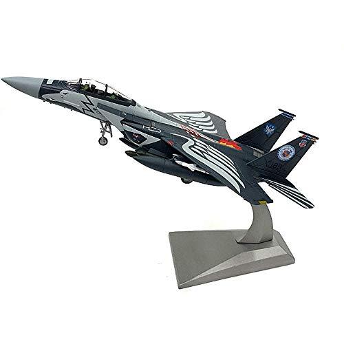 DressU Longevidad Escala 1/100 Modelo de los Aviones, Juguetes y Regalos del Ejército de los EE.UU. Boeing F-15E de Combate Infantil, 7.5Inch X 5.1Inch Durabilidad