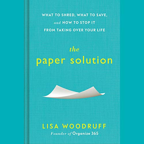 The Paper Solution audiobook cover art