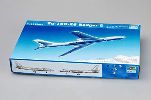 Trumpeter 1/144 Tu-16K-26 Badger G Model Kit
