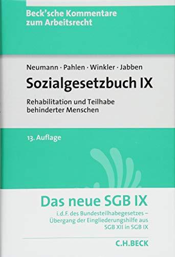 Sozialgesetzbuch IX: Rehabilitation und Teilhabe behinderter Menschen