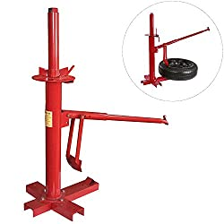 motorcycle tire changing stand and bead breaker