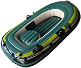 DDL Gonflable Kayak Adventure Kit, 2 Canadien Canoë, Kayak de mer avec Paddle, Gonflable, 260x 130 cm