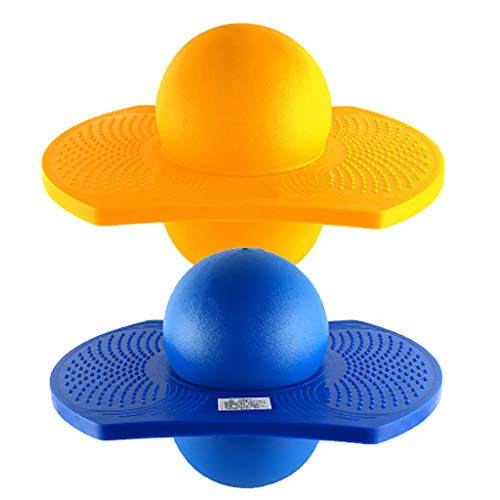 sharprepublic 2PCS Champion Pogo Ball Deportes Al Aire Libre Ejercicio Balance Salto Hinchable Juguete