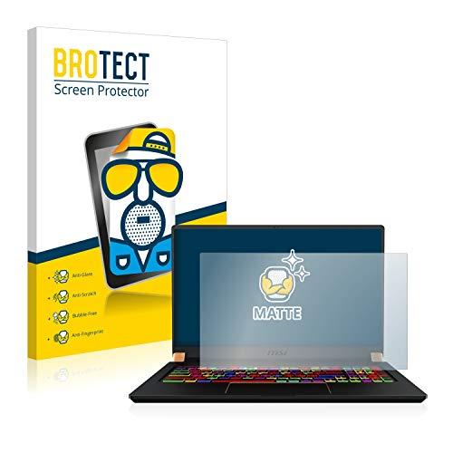 BROTECT Entspiegelungs-Schutzfolie kompatibel mit MSI GS75 10SFS-225 Bildschirmschutz-Folie Matt, Anti-Reflex, Anti-Fingerprint