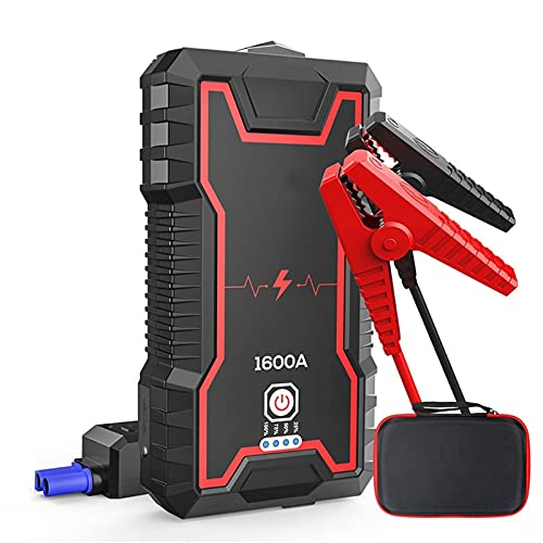 Jump Starter: Cargador De Batería Inteligente 24000mah Paquete De Alimentación De Emergencia (hasta 8l De Gasolina O Motor Diesel 6.5l) 12v Supercharger Automático De La Batería De ácido De Plomo con