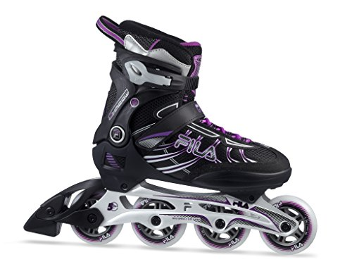 Fila Shadow 80 Lady Inline Skate, unisex, Shadow 80 Lady, schwarz/Magenta, 4,5