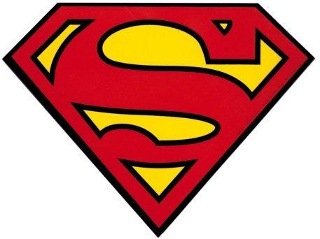 Superman - Classic Shield Logo - Sticker / Decal