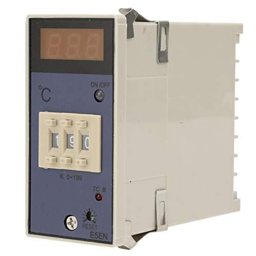 Controlador de temperatura-Pantalla digital Salida de contacto de relé Controlador de temperatura de dos posiciones Termostato tipo K(220VAC / 380VAC)