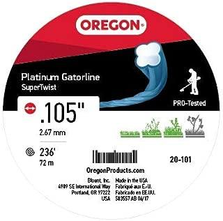 Oregon 20-101 Platinum Gatorline 1-Pound Donut String Trimmer Line 0.105-Inch Gauge
