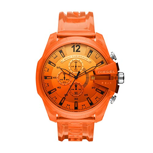 Diesel Reloj Analógico para de los Hombres de Cuarzo con Correa en plástico DZ4533