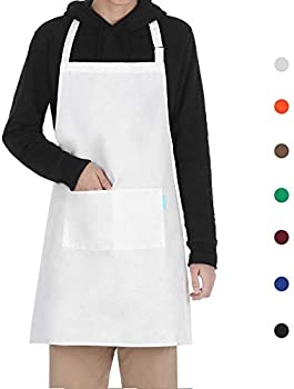 esonmus Cooking Apron Adults Polyester Kitchen Apron