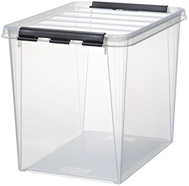 6 x HAMMARPLAST SmartStore Classic 16 Box - 25 Liter - 400 x 300 x 320mm - transparent