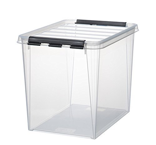 6 x HAMMARPLAST SmartStore Classic 16 Box - 25 Liter - 400 x 300 x 320mm - transparent
