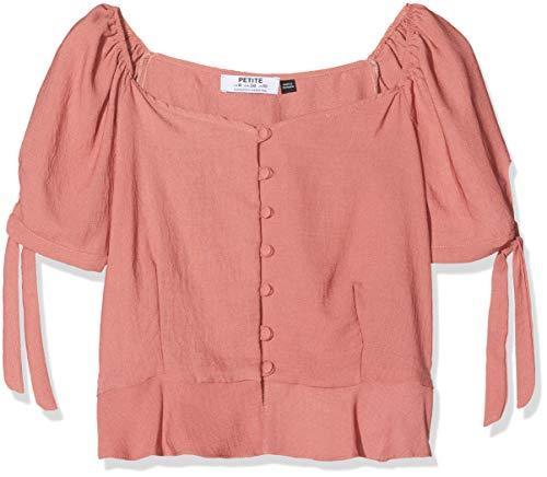 Dorothy Perkins Petite Vrouwen Blouse Pink Milkmaid Top