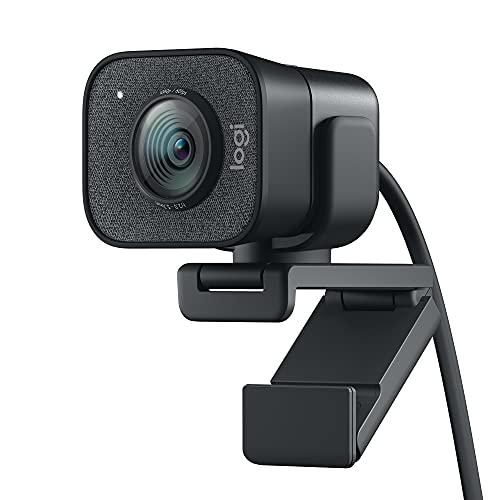 Oferta de Logitech StreamCam, Cámara Web con USB-C para Streaming de vídeo y creación de Contenido, Vídeo Vertical Full HD 1080p a 60 fps, Versatilidad demontaje, para Youtube, Gaming Twitch, PC/Mac, Negro