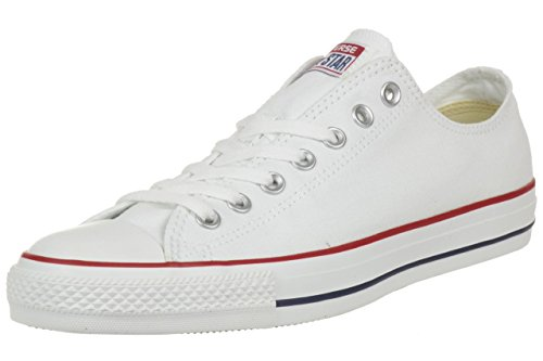 Converse Chuck Taylor All Star Ox, Zapatillas Hombre, Blanco (Optical White), 43 EU