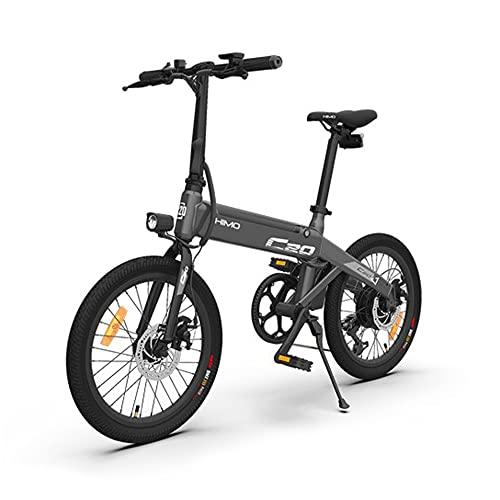 Festnight Bicicletta Elettrica Pieghevole da 20 Pollici Bike ciclomotore per Bicicletta elettrica Pieghevole da 20 Pollici ad Assistenza elettrica Motore da 10AH 250 W Sistema di Cambio shiman0