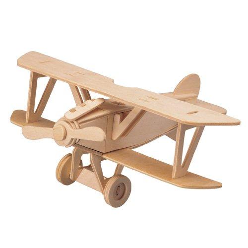 ETNA Iława Albatros DV 3D Holzbausatz Flugzeug Flieger Holz Steckpuzzle Holzpuzzle Kinder P059
