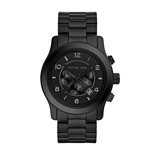 Michael Kors Herren Chronograph Quarz Uhr mit Edelstahl Armband MK8157