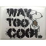 スヌーピーミュージアム Snoopy's Home Ice Santa Rosa,California限定マグネット WAY TOO COOLシュルツミュージアム サンタローザ(並行輸入品)