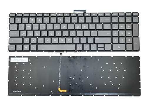 HuiHan Replacement for HP Pavilion 15-AB 15T-AB 15Z-AB Series Laptop Backlit Keyboard UK Version