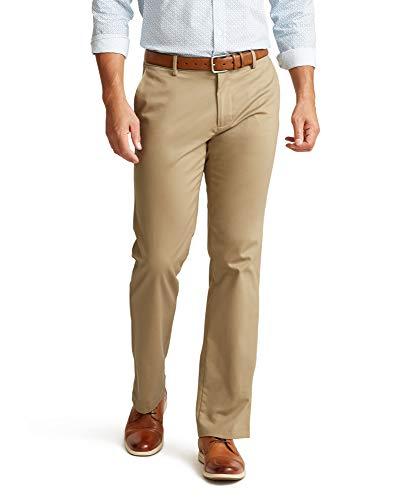 Dockers Men's Straight Fit Signature Khaki Lux Cotton Stretch Pants, New British...