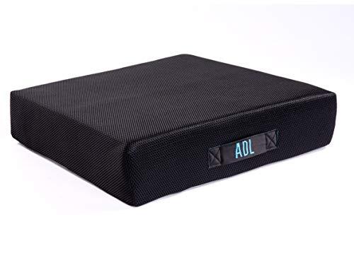 ADL Anti Dekubitus Sitzkissen Silflex 400, belastbar bis 150 kg, rutschsicher I einsetzbar bis Grad IV, Gelkissen in Sandwichbauweise für effektive Druckminderung beim Sitzen, Größe 40 x 40 x 10 cm