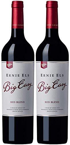 Ernie Els Big Easy Red Blend 2017 Paket | Rotwein aus Südafrika (2 x 0.75l) | Trocken | Weine für jeden Geschmack von CAPREO