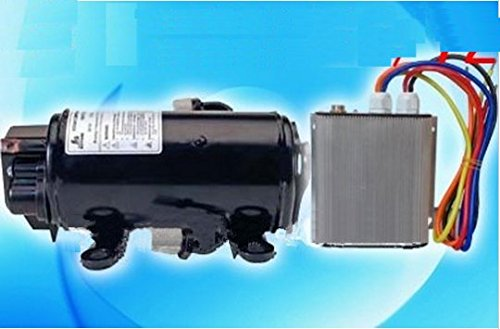 Auto GOWE CA (a/c) Compresor 72V Velocidad variable compresor para EV de vehículo eléctrico cabina de locomotora coche aire acondicionado