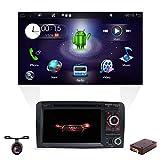 Android 8.1 Double DIN Autoradio pour Audi A3 2003–2011, autoradio avec en Dash GPS Système de Navigation , YUNTX véhicule...