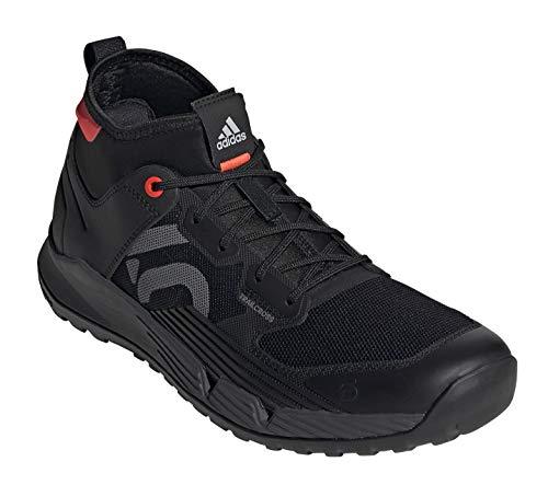 Five Ten Men's Trailcross XT Mountain Bike Shoe, Core Black/Grey Four/Solar Red - 12