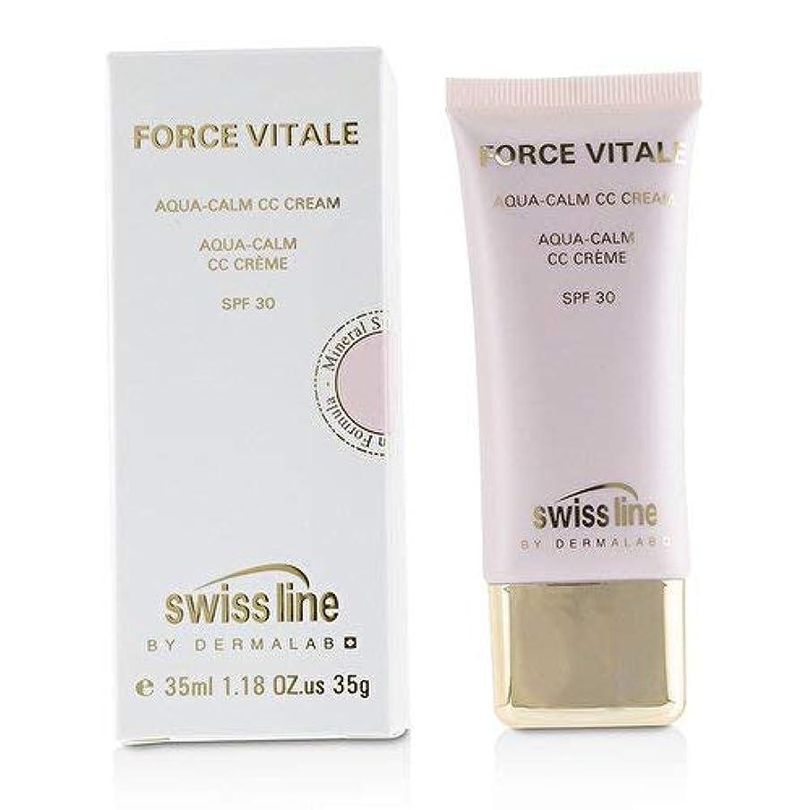 億リーチ絶え間ないスイスライン Force Vitale Aqua-Calm CC Cream SPF30 - Beige 20 -並行輸入品