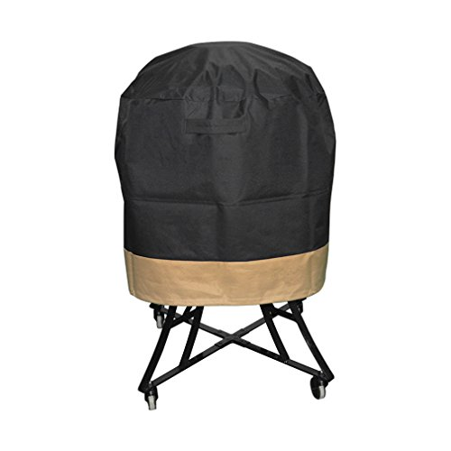 onlyfire Kamado Grill Cover Fits for Large Big Green Egg,Kamado Joe Classic and Stand-Alone,Large Grill Dome,Pit Boss K22,Louisiana K22,Coyote The Asado Cooker and Other,30' Dia X 24' H
