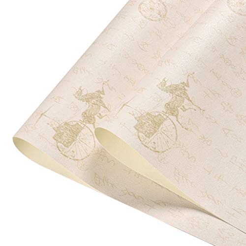 Oude tekst muur papier orakel vervoer thee kamer klassieke studie restaurant waterdicht Chinese stijl behang