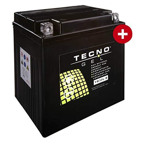 Tecno YB30L-B Gel Batterie FLHRC 1690 Road King Classic ABS 2011-2016