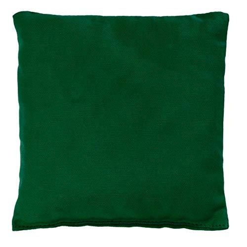 Saquito térmico 12x12cm verde | Almohadilla térmica | Cojín de semillas | Semillas de colza
