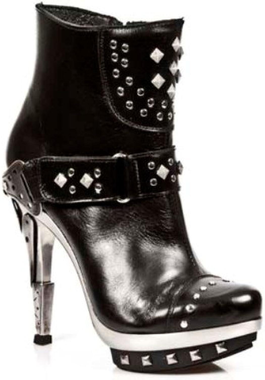 NEWROCK NR M.PUNK003 C1 Black - New Rock Boots - Womens (44)